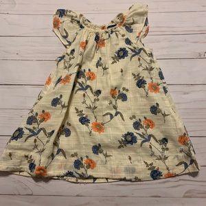 GAP Flutter Sleeve Dress